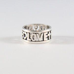 JAMES AVERY Faith Hope & Love Ring 7